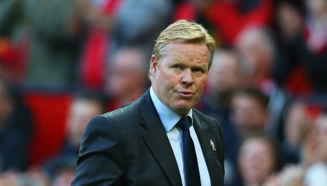 Ronald Koeman lands Holland job months after being sacked by Everton