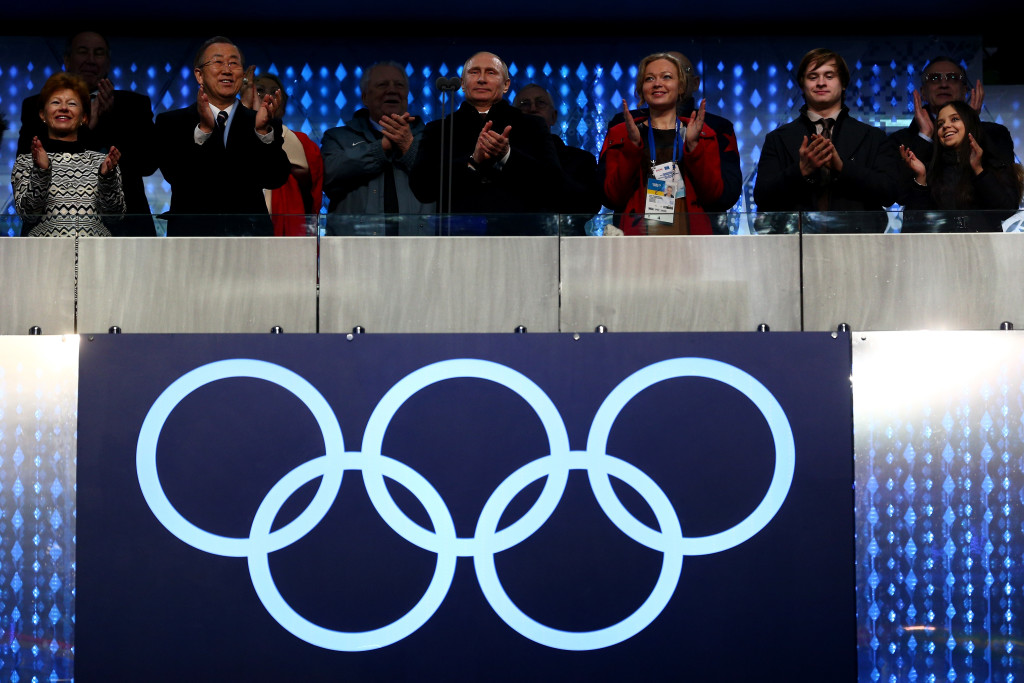 The Sochi Olympics were supposed to be a moment of triumph for Russia.