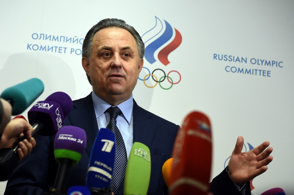 Former Russian sports minister Vitaly Mutko was banned for life.