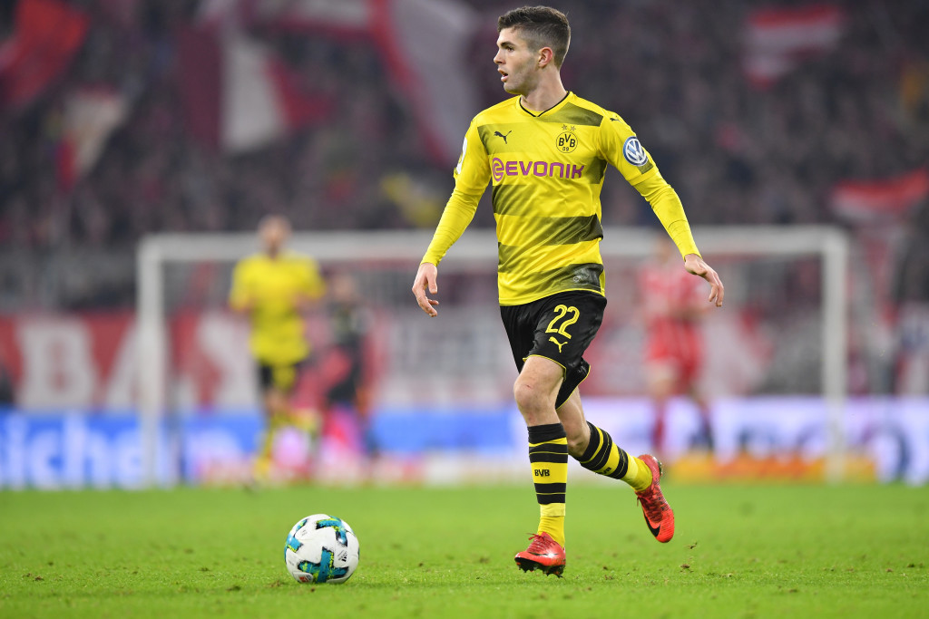 Christian Pulisic could be playing in the Premier League next season.