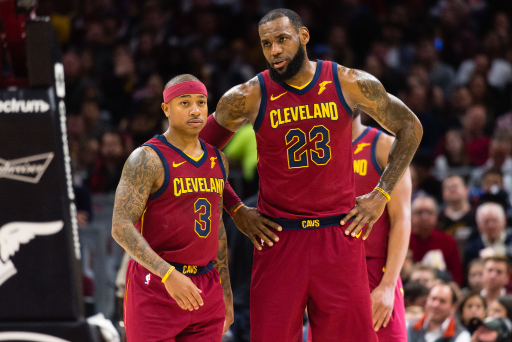 The Isaiah Thomas-LeBron James partnership never quite worked out.