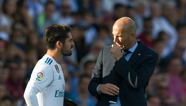 Zidane says he wants Man City, Chelsea target at Real Madrid 'for life'