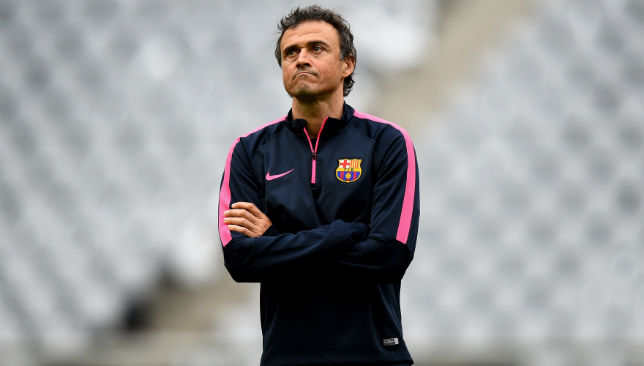 Vermaelen is a big fan of former coach Luis Enrique.