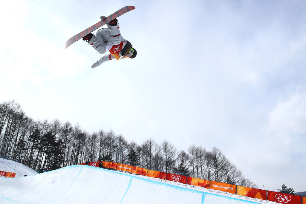 Chloe Kim showed why she's the favourite for the gold medal.