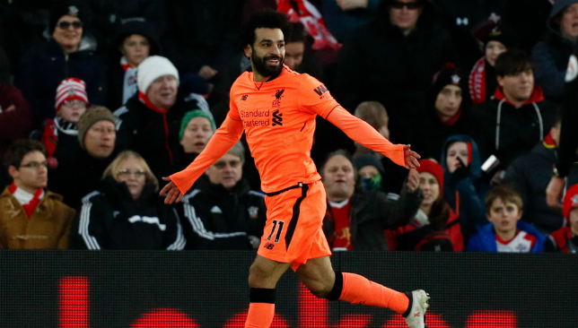 Mo goals please: Salah has been a revelation for Liverpool.