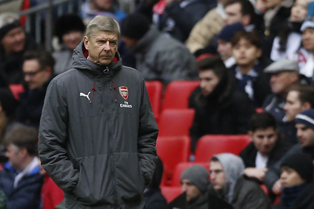 Wenger knows this may be his best chance of qualifying for the Champions League.