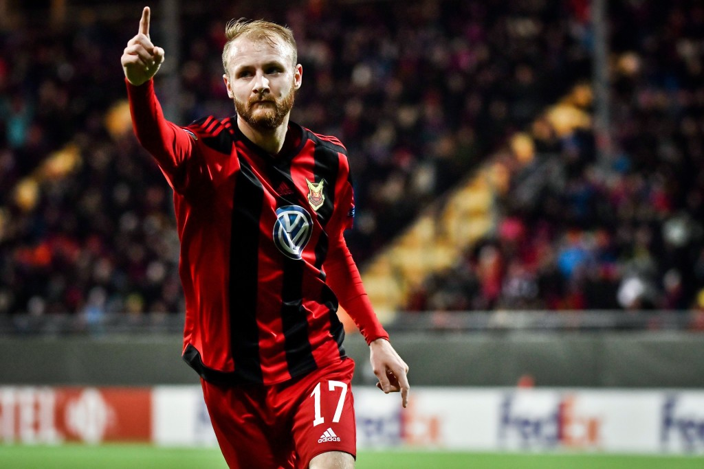 Curtis Edwards has been instrumental in Ostersund's European campaign.