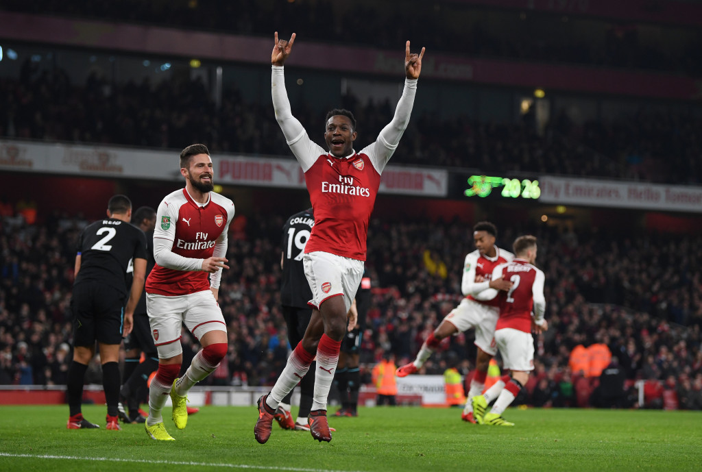 Danny Welbeck has yet another chance to shine in an Arsenal shirt.