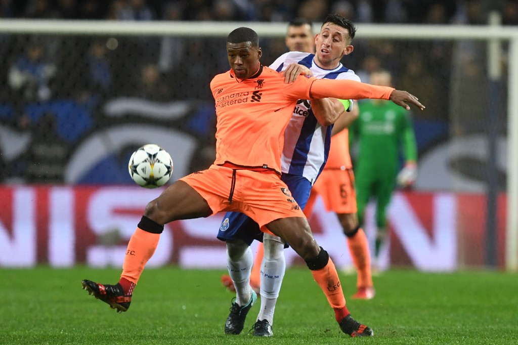 Wijnaldum delivered a throwback performance,