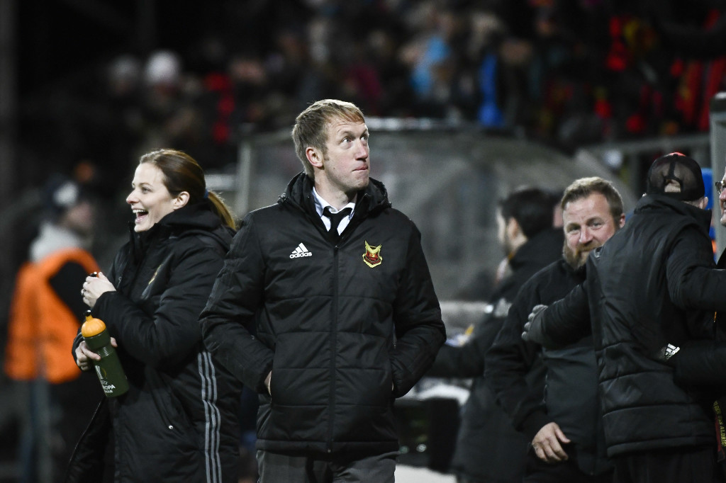 Graham Potter has been making a mark in Sweden, but this is his big moment.