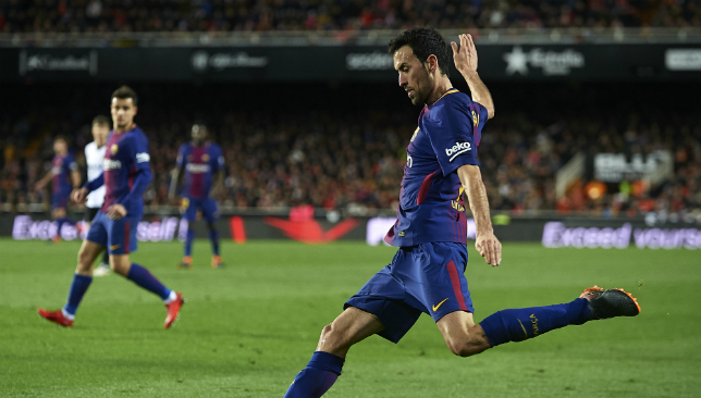 Pass-master Sergio Busquets was at his finest against Chelsea.