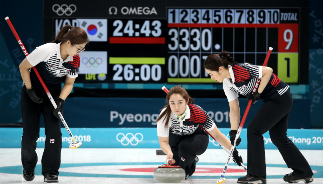South Korean women's curling team on verge of historic ...