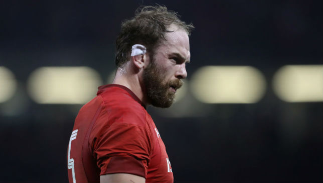 Alun Wyn Jones of Wales