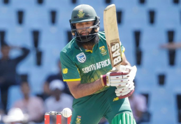 Amla's innings was a short-lived one once again.