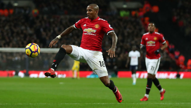 Ashley Young has reverted to wing back under Jose Mourinho and has flourished.