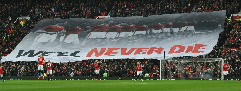 United marked the 60th anniversary of the Munich Air Disaster against Huddersfield on Saturday.