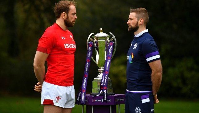 Wales victory over Scotland 'borne out of respect', says Alun Wyn Jones