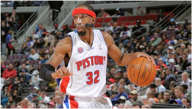 d88978690929 Rip Hamilton on Detroit Pistons