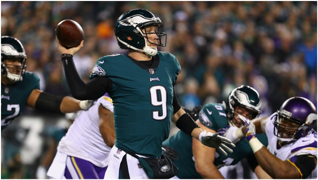 Nick Foles has provided a steady hand at quarterback for Philadelphia.