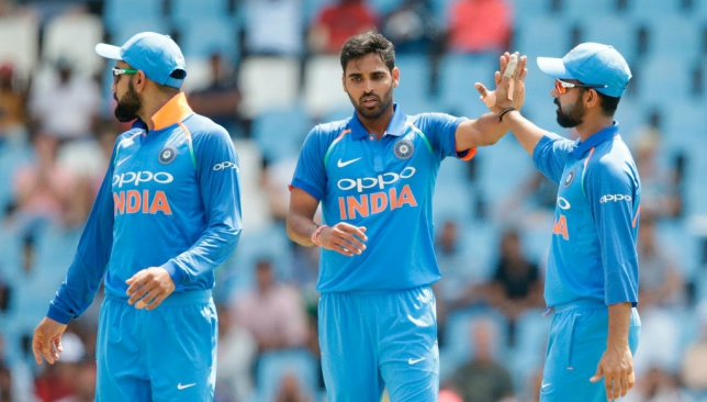 Bhuvi picked up five in the first T20 against SA