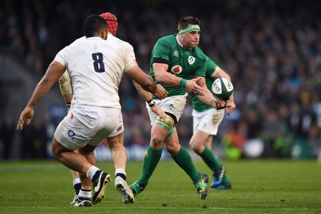 Ireland falnker CJ Stander will be looking to unsettle the young fly-half