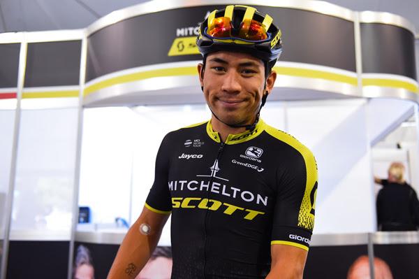 Caleb Ewan was fifth on Stage 2.