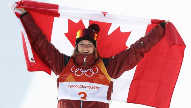 Cassie Sharpe wins Olympic gold in women's halfpipe skiing