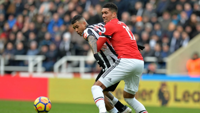 Smalling has been superb since being singled out for scorn in a 1-0 defeat at Newcastle.