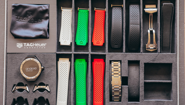 Connected Modular straps