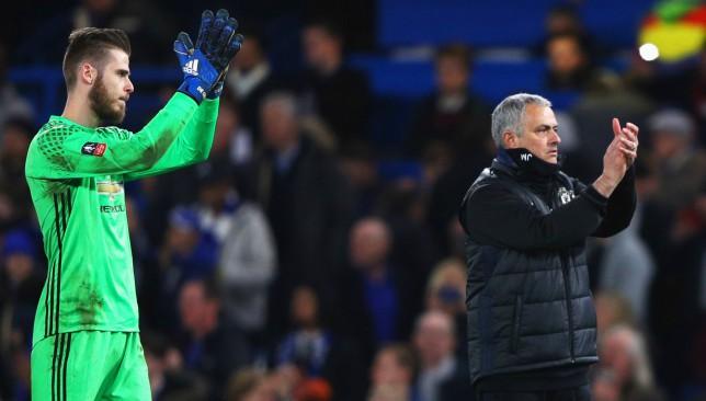 It makes no sense - Mourinho rules out selling de Gea