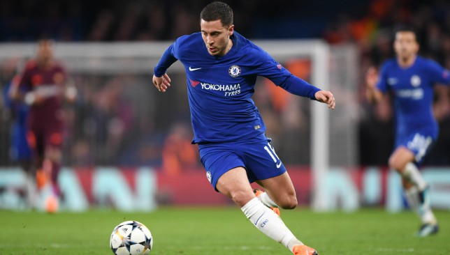 Chelsea are set to offer Eden Hazard new contractual terms.