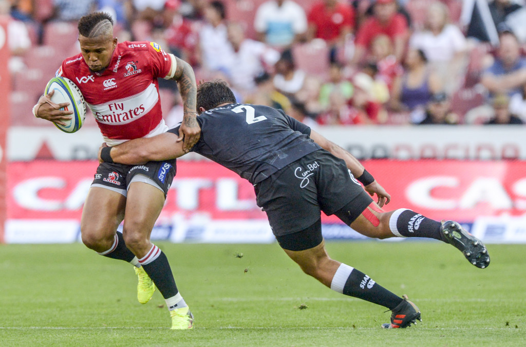 Elton Jantjies had a mixed day for the Lions