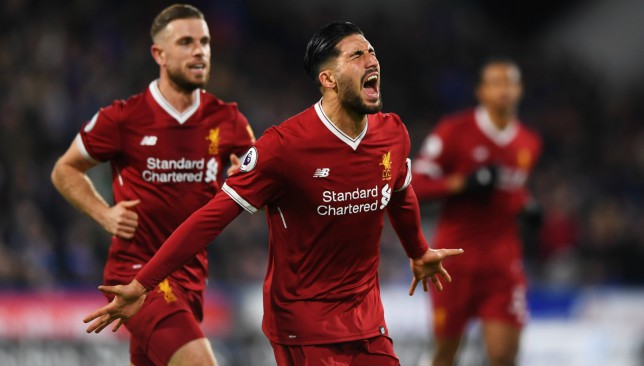 Emre Can was rumoured to be leaving the Reds in the transfer window.