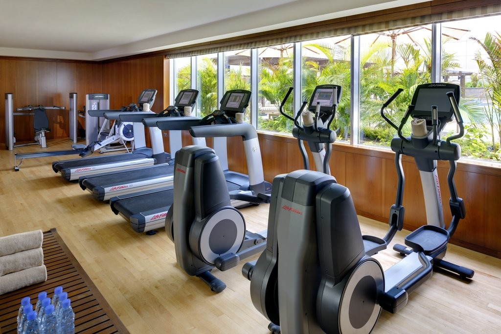 State of the art equipment at Exhale Gym and Spa