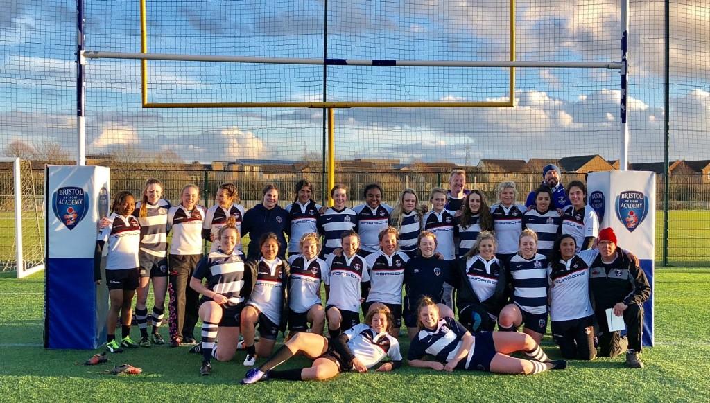 The Exiles U18 girls' squad.