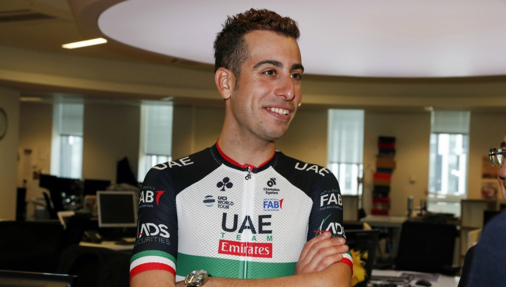 Fabio Aru, the 2015 Vuelta a Espana champion, joined UAE Team Emirates for 2018.