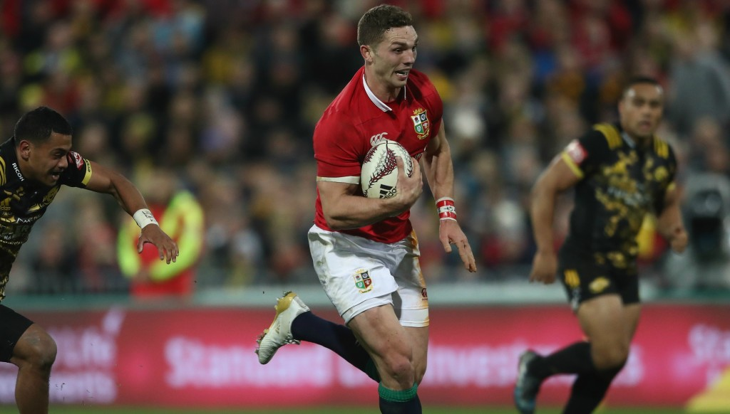 George North is an option at outside centre for Wales