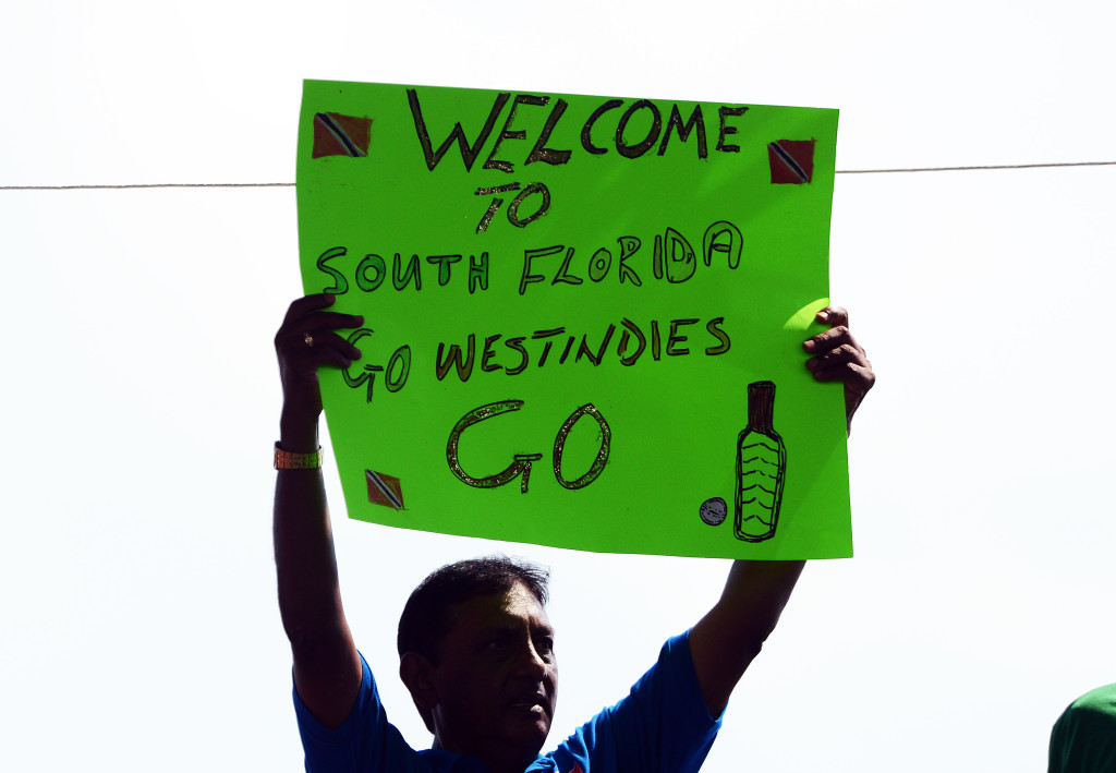 The West Indies have already played a few times in Florida.