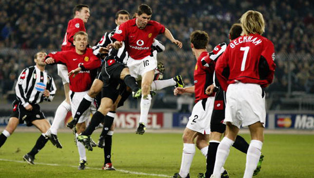 Roy Keane against Juventus