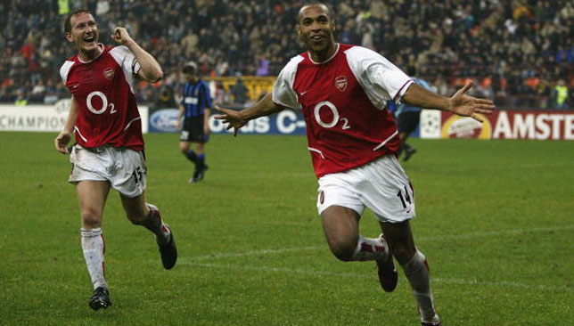 Thierry Henry was sensational against Internazionale