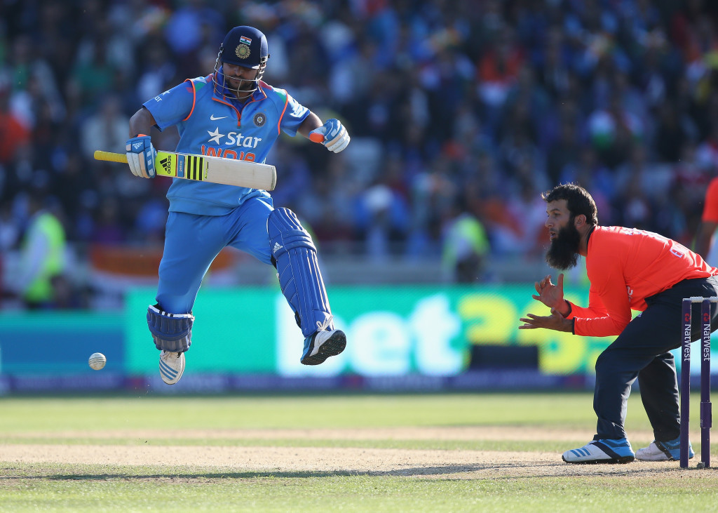 Raina's fifty was vital in India's series win.
