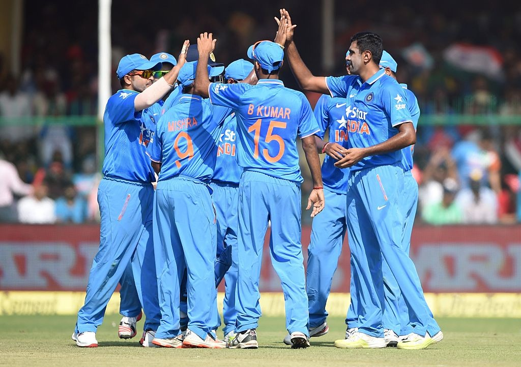 Ashwin's four-wicket burst had helped India clinch the series.