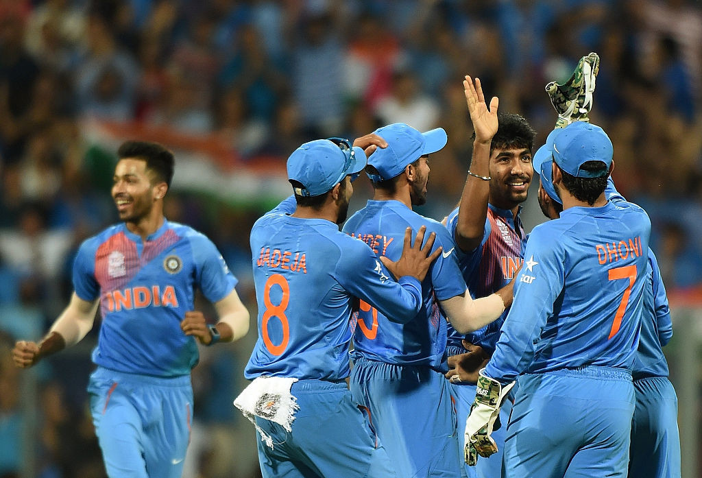 Bumrah shone for India in a tense final T20I at Bengaluru.