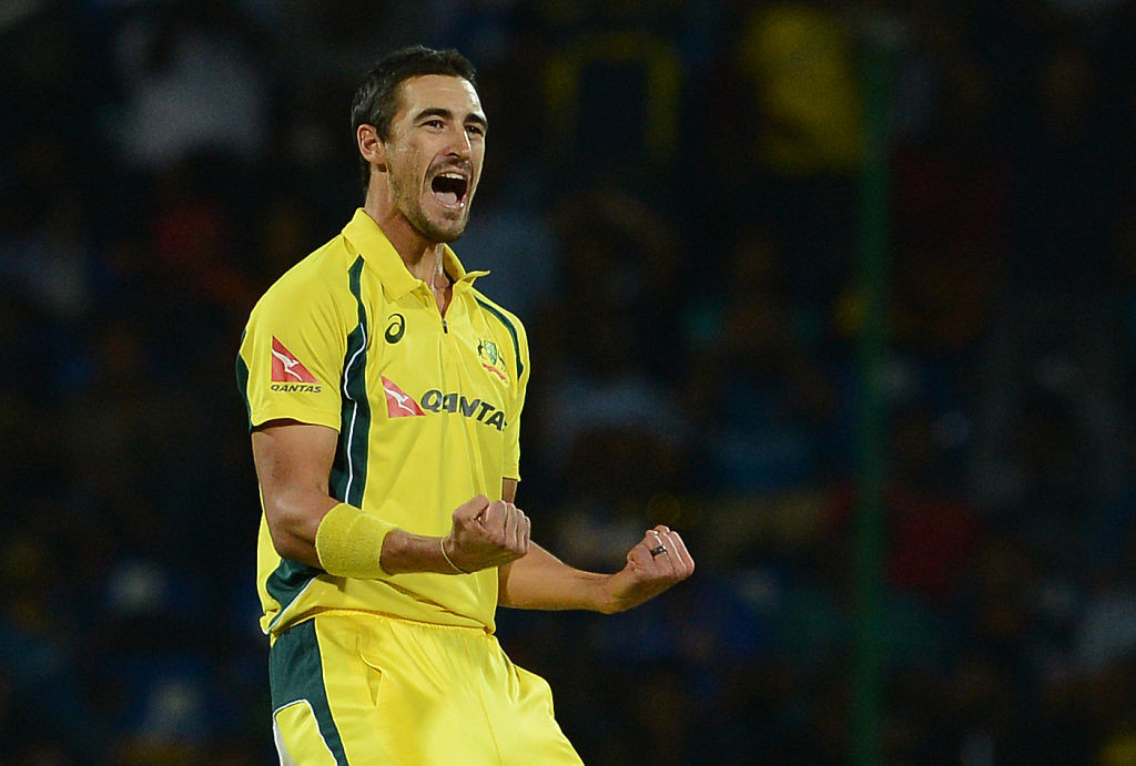 Starc can bowl a mean yorker at frightening pace.