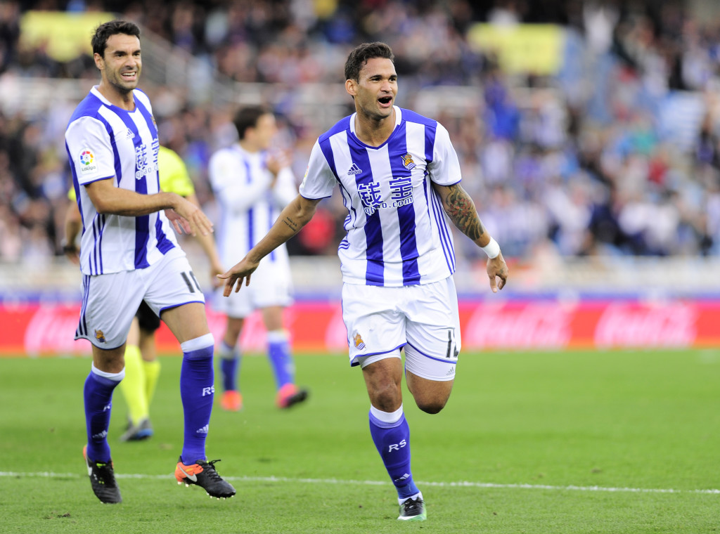 Form man: Willian Jose has caught the eye for Real Sociedad