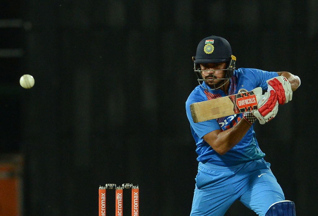 Manish Pandey could do with a chance to bat.