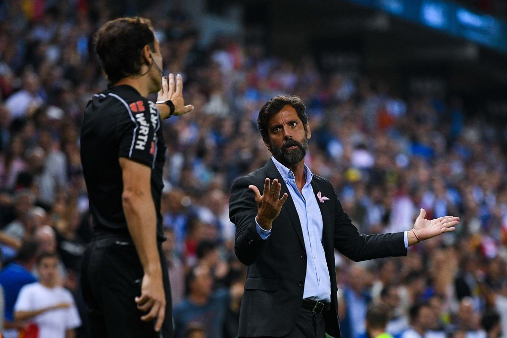 Quique Sanchez Flores' men are coming under increasing pressure.