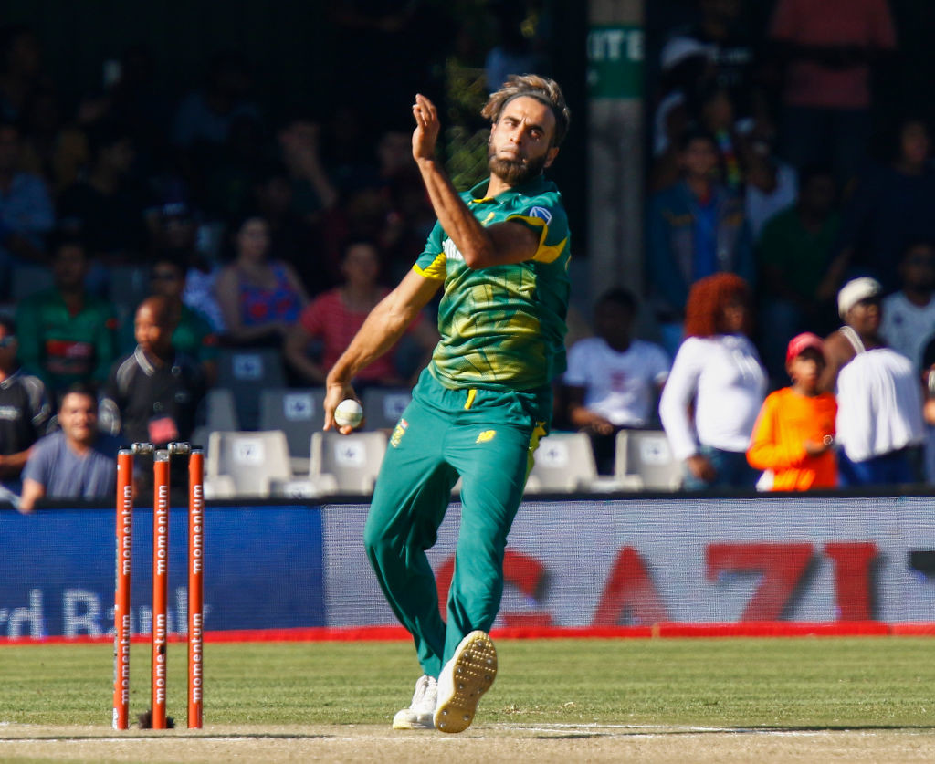 The South African spinner is the No1 ODI bowler in the world currently.