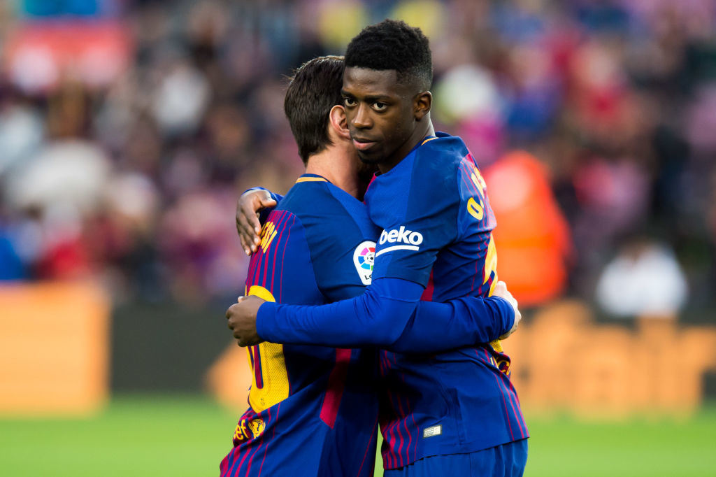 Barcelona's Semedo out for 5 weeks with hamstring injury