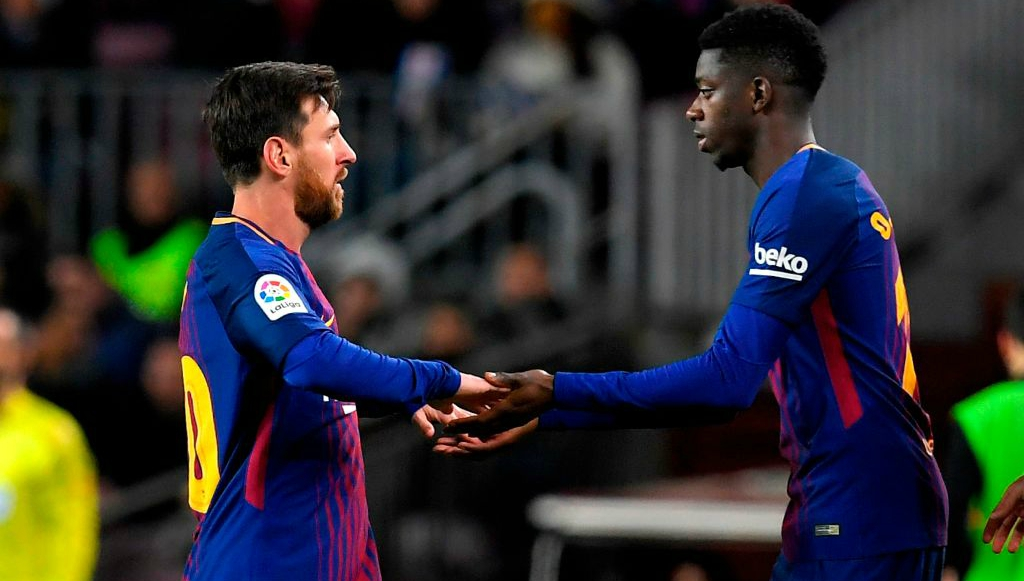 Suarez treble and Messi masterclass inspire Barcelona